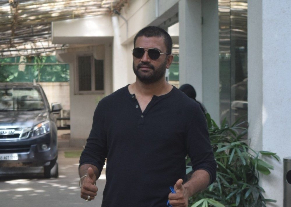 Shrad Kelkar spotted at sunny sound in Juhu
