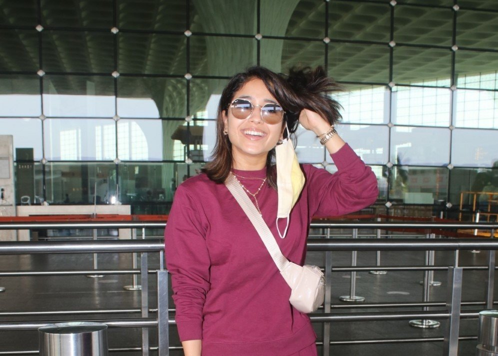 Shweta Tripathi Spotted At Airport Departure