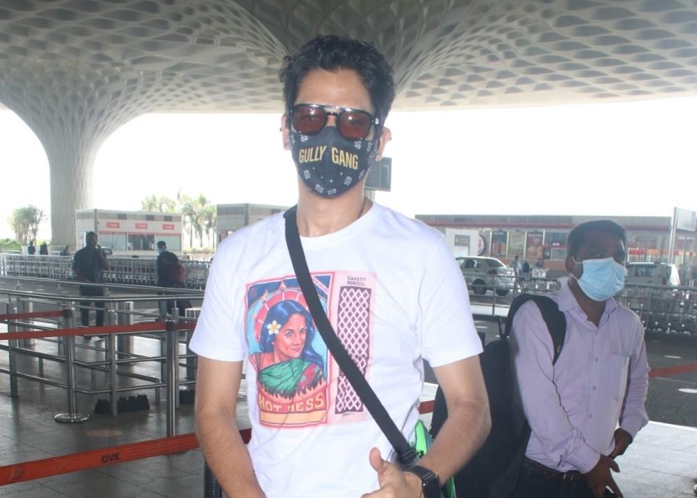 Vijay Varma Spotted at Airport Departure
