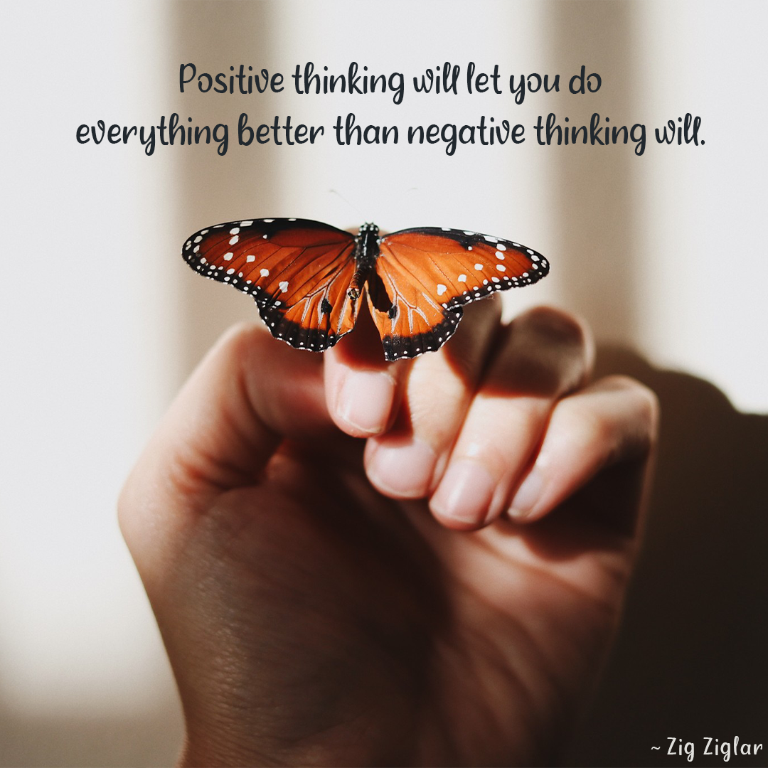 Positive Thinking Will Let You Do Everything Better Than Negative Thinking Will.