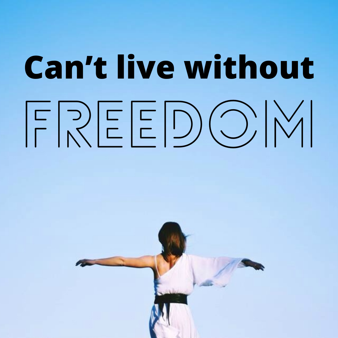 Can't Live Without Freedom