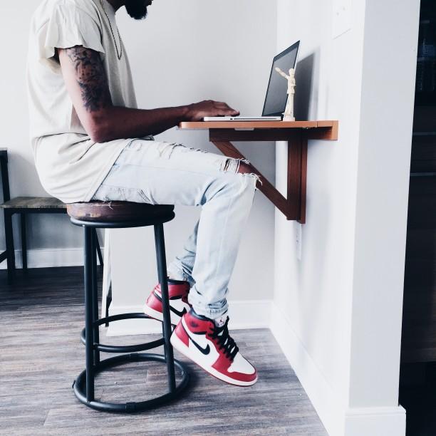 Foot Rest desk