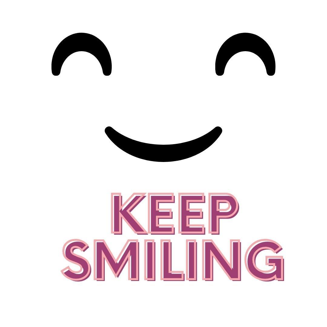 whatsapp dp keep smiling