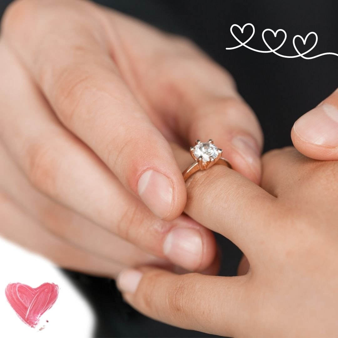 WhatsApp DP engagement ring
