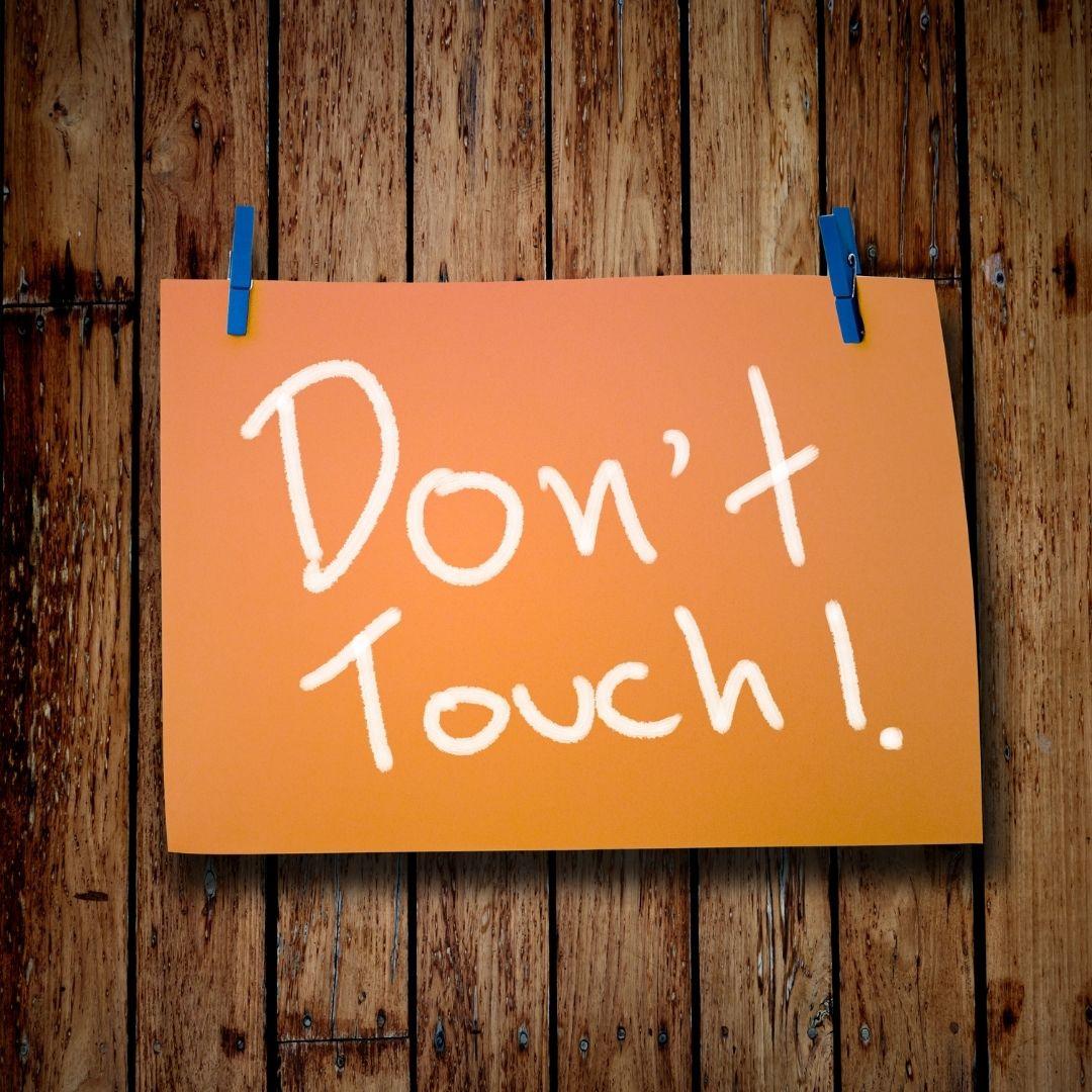 WhatsApp DP - Don't Touch