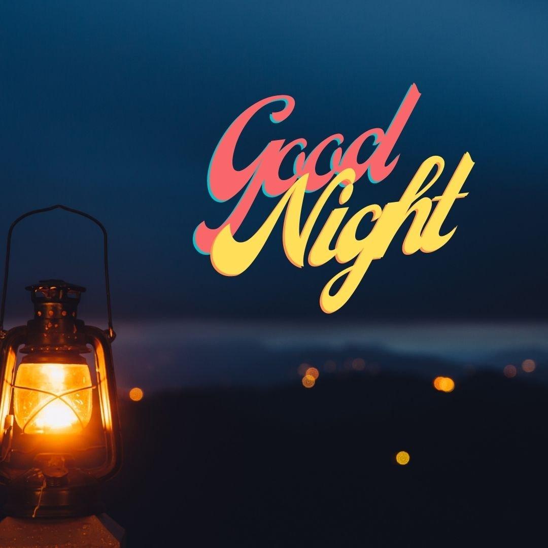 Good Night night lamp